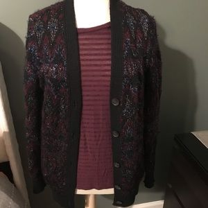 Lucky Brand cardigan sweater.